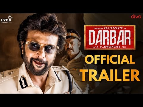 DARBAR (Tamil) - Official Trailer | Rajinikanth | A.R. Murugadoss | Anirudh Ravichander | Reaction