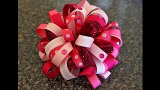 In this tutorial, we will learn how to make a different loopy bow u...