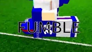 I Planned That Fumble | Legendary Football Roblox | 10/6/2017