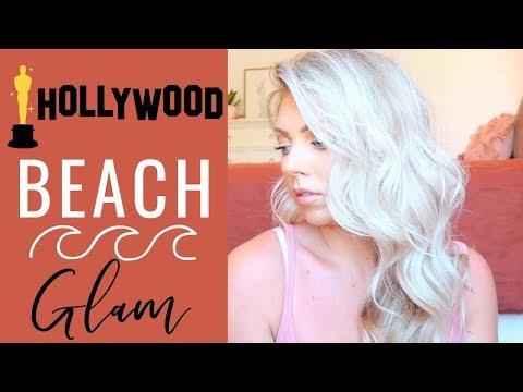 Hollywood Glam BEACHY Waves | Hair Tutorial thumbnail
