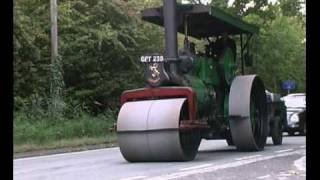 Aveling Barford steam roller.