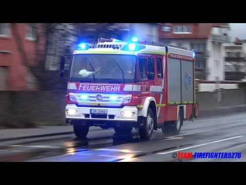 [Hilfeleistung Bundesautobahn] Rüstzug Freiwillige Feuerwehr Obertshausen