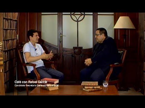 Café con... Rafa Garcia, candidato a la Secretaría General del PSPV-PSOE