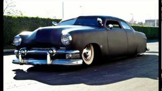 1951 Ford Shoebox Custom Ratrod Leadsled Chopped n' Bagged