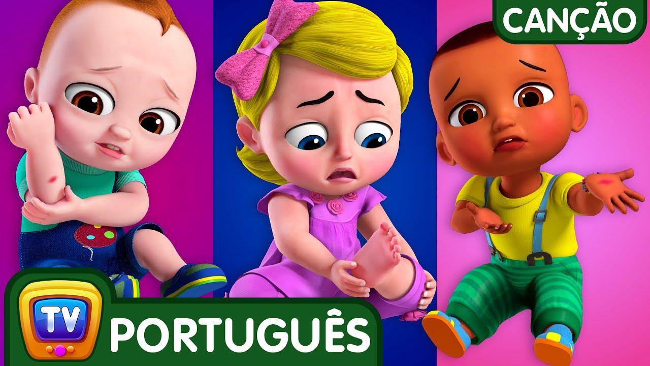 A musica do machucado (The Boo Boo Song) | Canções para Crianças | ChuChu TV