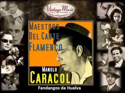 MANOLO CARACOL CD Flamenco World 01 Spain Guitar Baile Cante Jondo Ole. Fandangos de Huelva