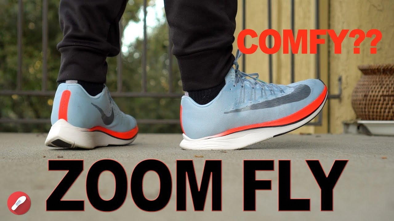 60a186fcd74 Nike Zoom Fly Review! Nike s Most Comfortable Shoe ! - YouTube