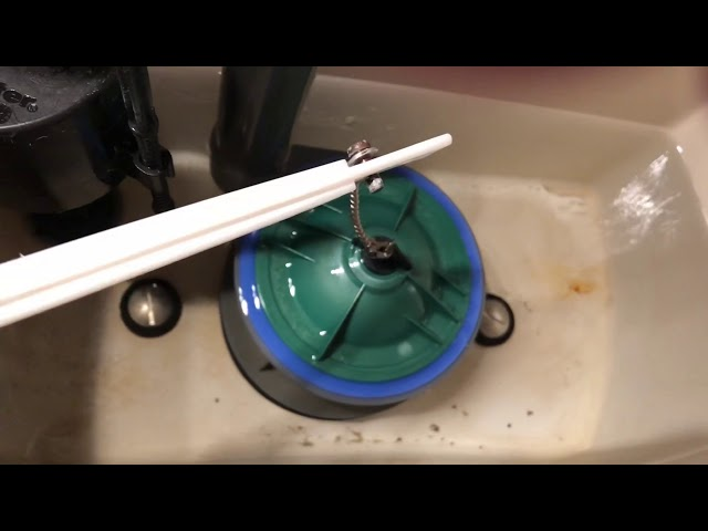 How To Fix Toilet That Won't Stop Running - Float wont shut off water - replace toilet float & valve