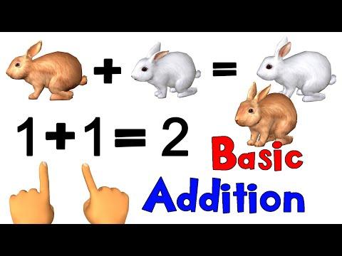 Basic Math Addition For Kids | Noodle Kidz Pre-K and Kindergarten Educational Video