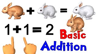Basic Math Addition F๐r Kids | Noodle Kidz Pre-K and Kindergarten Educational Video