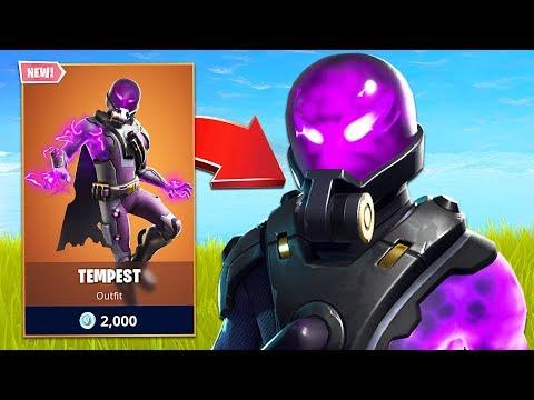 New Legendary Tempest Skin! (Fortnite Battle Royale)