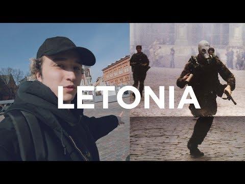 Me encontré con esta increíble historia en Letonia