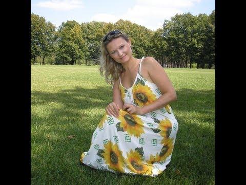 Как сшить платье без выкройки пошаговый мастер класс с фото