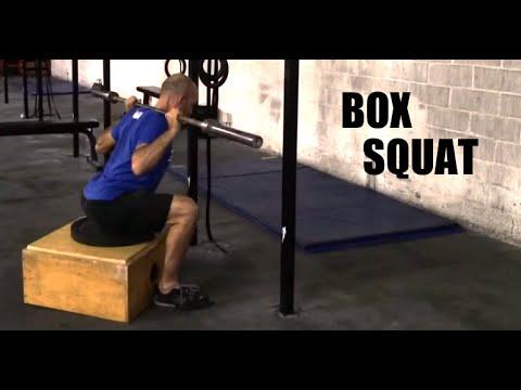 BOX SQUAT TECHNIQUE - Paradiso Crossfit - YouTube