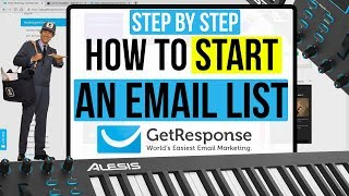 How To Create An Email List & Newsletter From Scratch (GetResponse Tutorial)