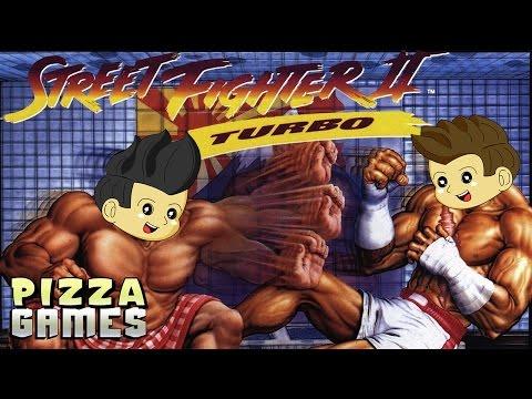 Street Fighter 2 Turbo - Pizza Games VS