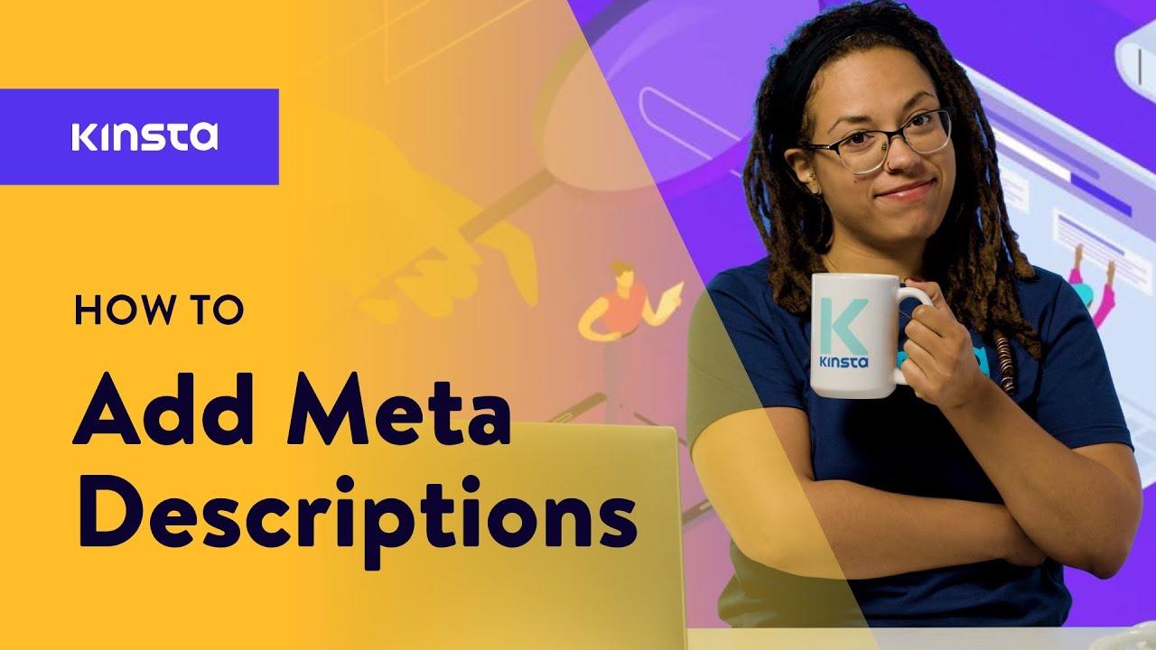 How to Add Meta Descriptions in WordPress