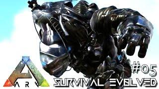 ARK: SURVIVAL EVOLVED - NEW BIONIC ROCK ELEMENTAL & SABER !!! E05 (MODDED ARK MYSTIC ACADEMY)