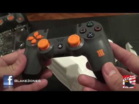 Cod Black Ops 3 Ps4 Controller Unboxing Review Youtube
