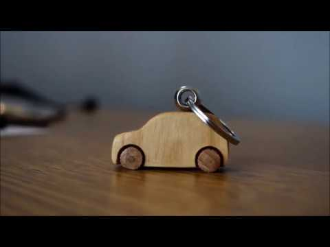 AMAZING WoodWorking Project - DIY Project You MUST See - Wooden Car Keychain