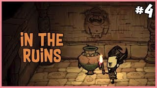 🐷 Entering the Ruins | Don't Starve Hamlet Beta Gameplay | Part 4