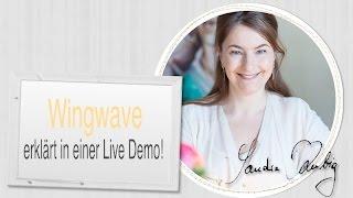 Video Wingwave Coaching erklärt und gezeigt in einer Live Demo von Sandra Kubig download MP3, 3GP, MP4, WEBM, AVI, FLV Juli 2018