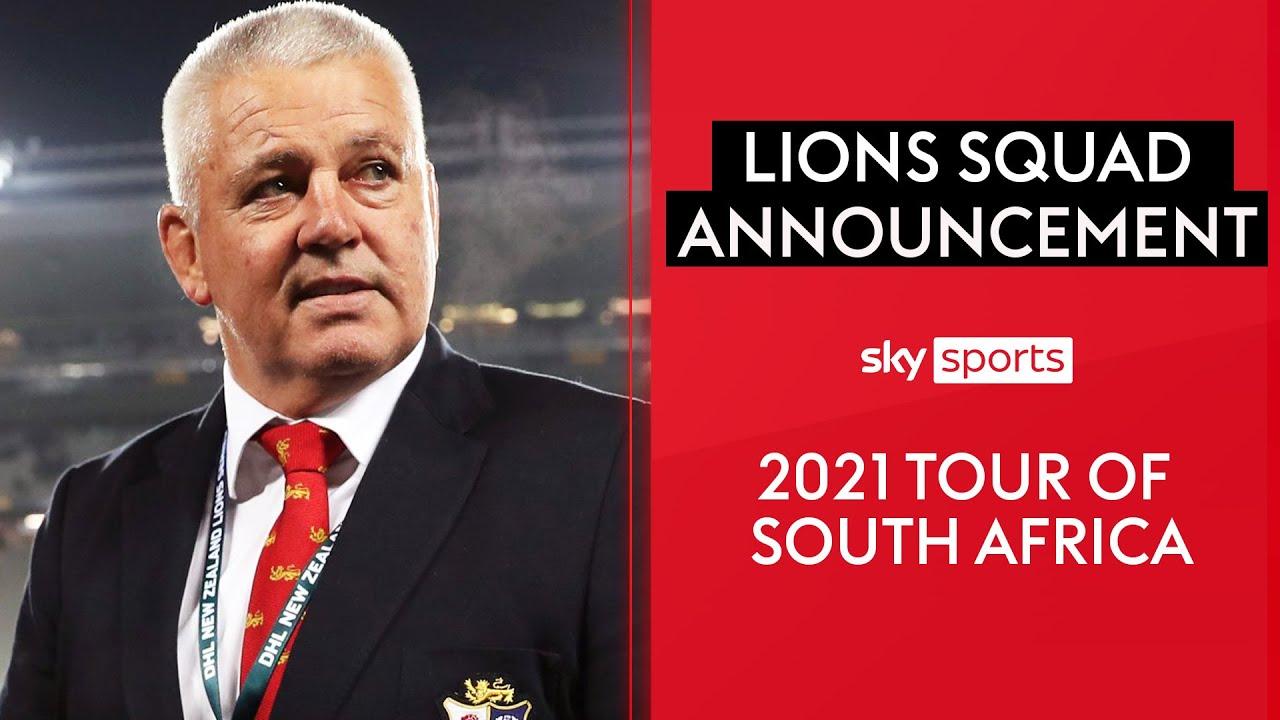 British & Irish Lions 2021 tour squad announcement | Full show