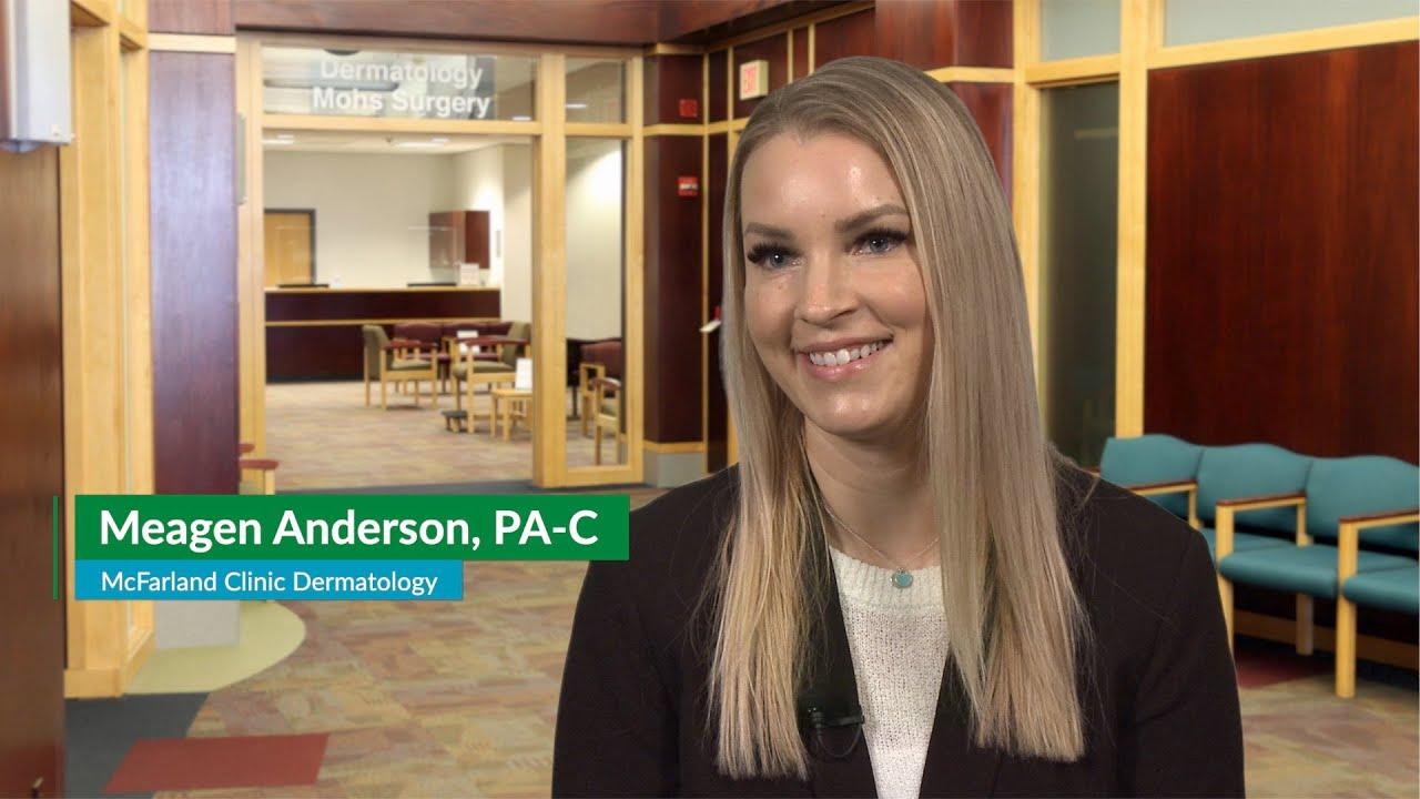 Meagen Anderson, PA-C – Dermatology in Ames, Iowa | McFarland Clinic