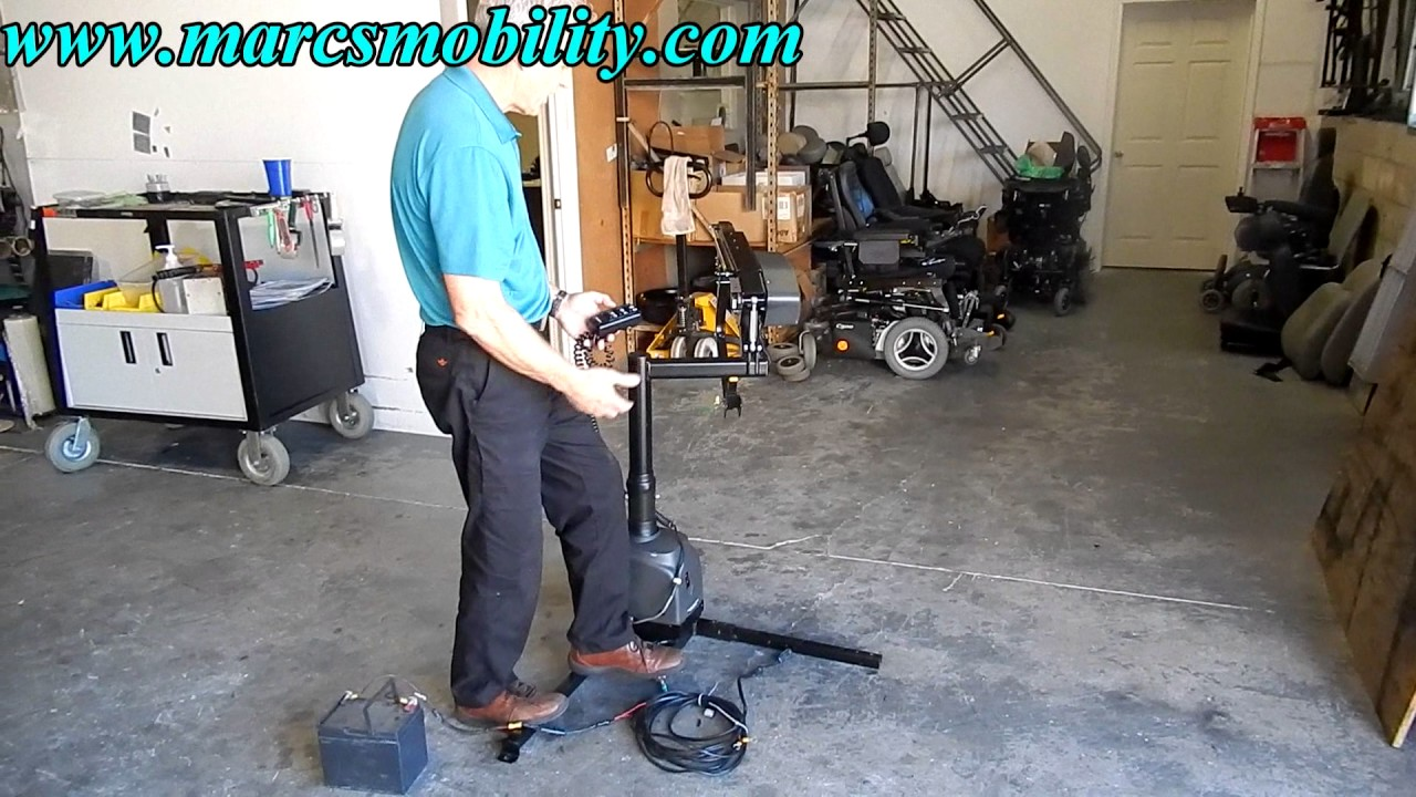 Bruno Vsl 6900 Used Scooter And Power Chair Lift Youtube Vehicle Wire Schematics