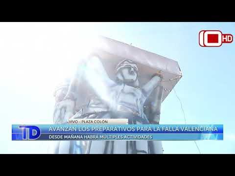 Avanzan los preparativos para la Falla Valenciana