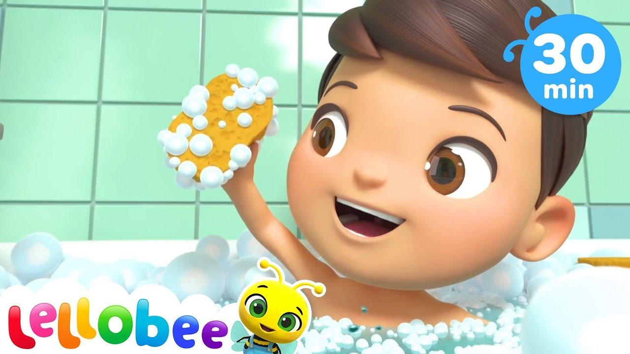 Bath Song | Little Baby Bum |  Kids Songs | Nursery Rhymes | Sleep Baby Songs