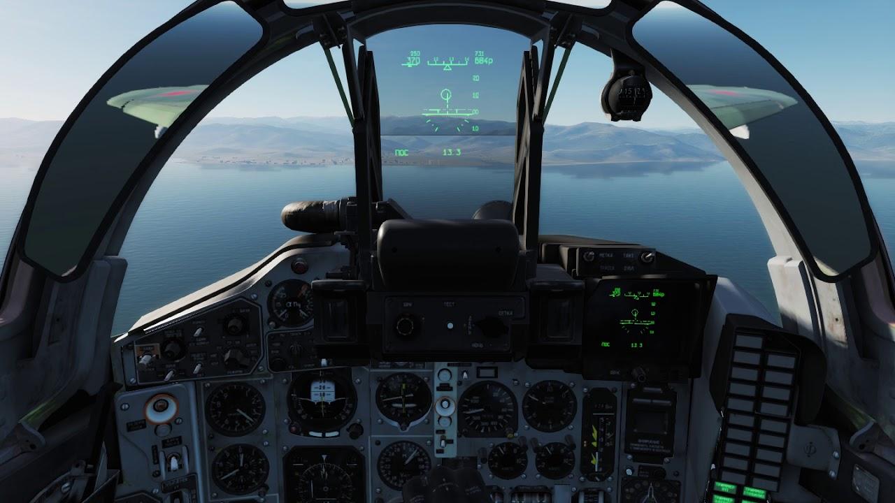 MiG-29S Landing, False MiG-29 Pilot, PFM, Cockpit View, DCS