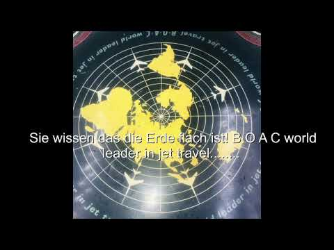 B.O.A.C. fliegt über der flachen Erde / fly over the flat earth thumbnail