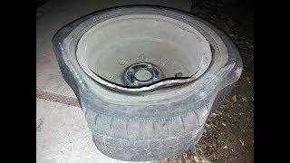 Погнул колесный диск – что делать: ремонтируем за пять минут