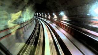 Метро глазами машиниста(Видео снято в Kuala Lumpur, где никакого машиниста нет, метро полностью автоматическое., 2013-01-24T13:09:05.000Z)