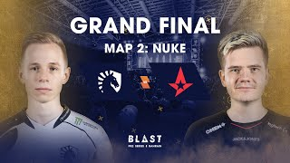 BLAST Global Final Bahrain 2019 - Grand Final - Team Liquid vs Astralis Map 2 (Nuke)