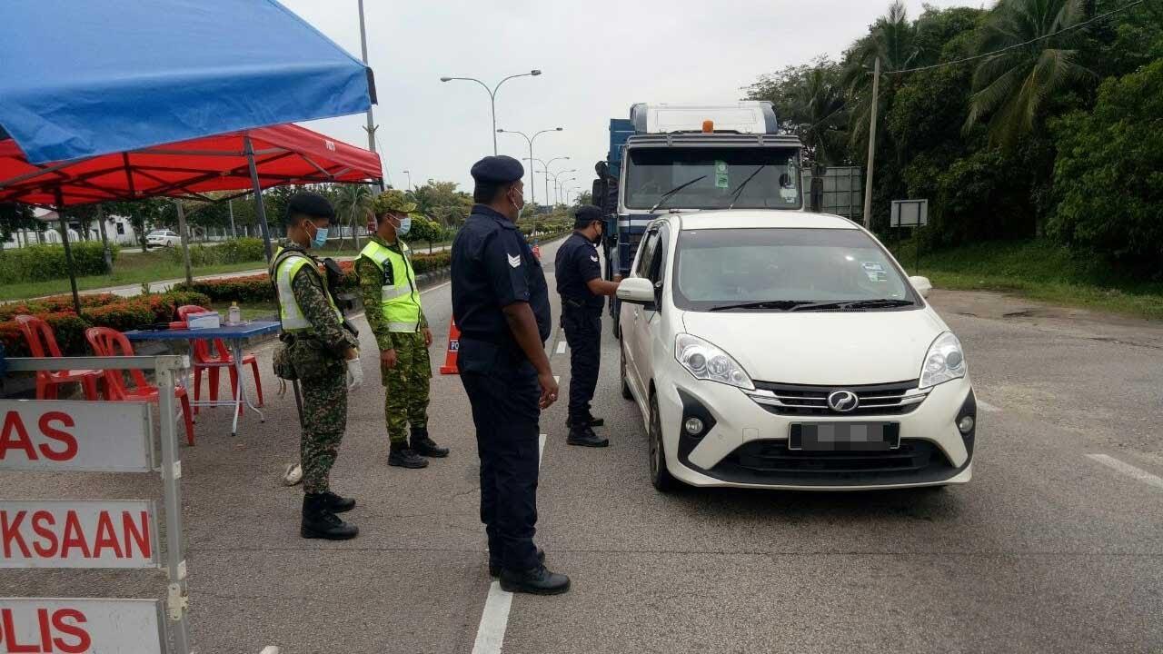 Lima SJR di sempadan Terengganu