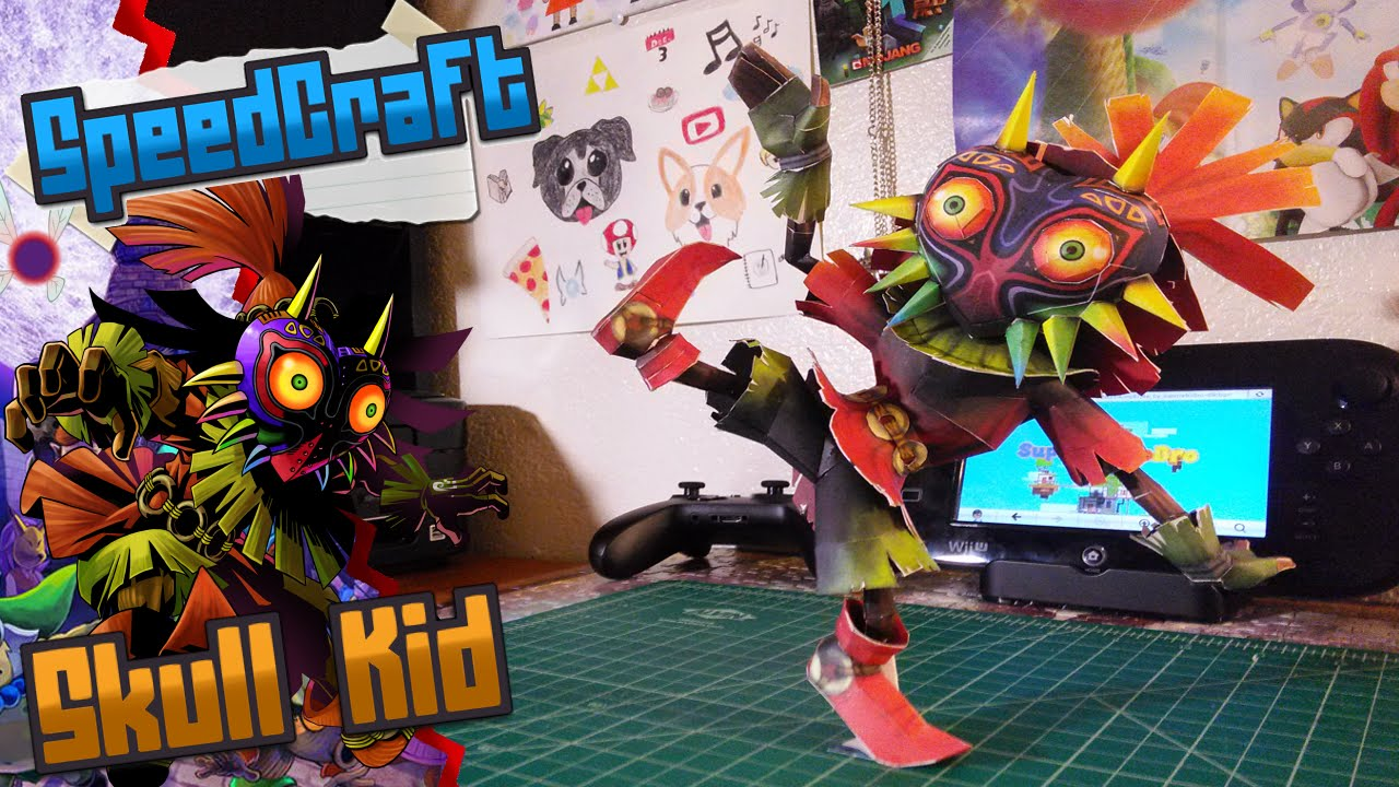 Papercraft The Legend of Zelda Papercraft ~ Skull Kid ~