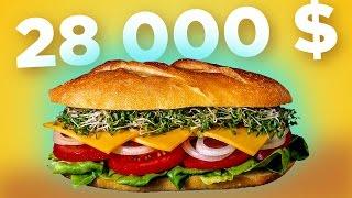 БУТЕРБРОД ЗА 28 000 Самый дорогой в мире бутерброд WOW CLICK
