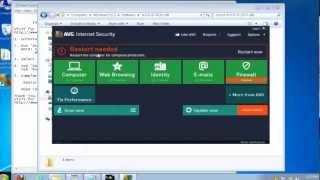Offline Installer of AVG Internet Security 2013 | How To Install AVG IS 2013