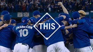 Blue Jays clinch the ALDS with comeback win #THIS