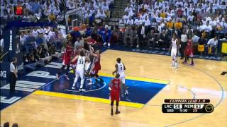 NBA Playoffs 2012: Los Angeles Clippers Vs Memphis Grizzlies Game 2 Highlights (1-1) HQ