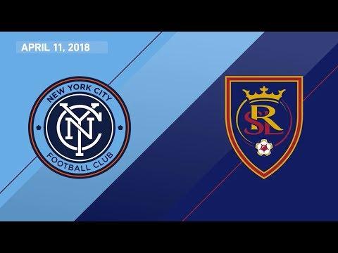 HIGHLIGHTS: New York City FC vs. Real Salt Lake | April 11, 2018