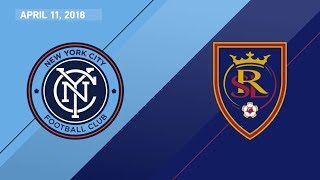 HIGHLIGHTS: New York City FC vs. Real Salt Lake | April 11, 2018