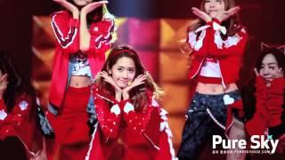 Fancam  130106 Kbs 희망음악회 I Got A Boy- Yoona  Pure Sky