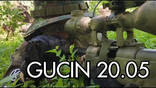 Airsoft Sniper Gameplay - Scope Cam - GUCIN 20.05
