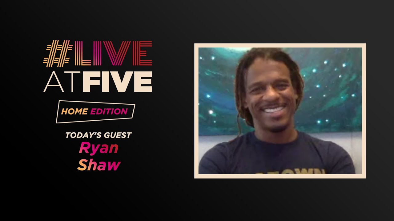 Download Broadway.com #LiveatFive: Home Edition with Grammy Nominee Ryan Shaw