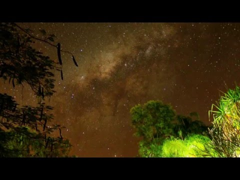 Night Sky in Australia Traveler version with POP song in FullHD