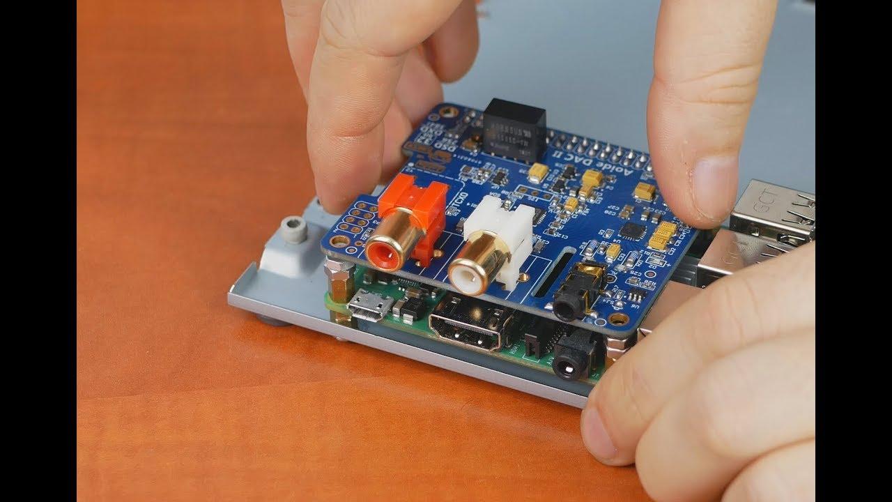 Сетевой аудиоцентр на Raspberry Pi 3B+ часть 2