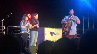 Adam Sandler Brings Daughters on Stage to Sing Taylor Swift's Lover -EB Awareness